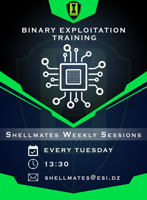 Binary Exploitation workshop by shhellmates