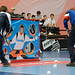 swiss unihockey posted a photo:Bern, Sporthalle Wankdorf, 23. Februar 2019, Cupfinal der Damen: Piranha Chur - Kloten-Dietlikon Jets, Feature Mobilar Pausenspiel.(www.imagepower.ch / Fabian Trees)