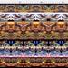 Fantasy fabric - batik art fabric - cotton yard - from original batik - Cows, horses, birds, landscapes, turtles, salamanders https://etsy.me/2EtoRYF. #batik artfabric #fantasy #magic #apring #sewing #quilting #dragon #amityfarmbatik