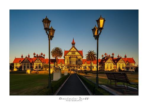 Rotorua Museum Building - New Zealand