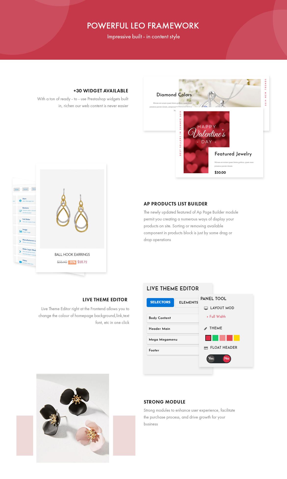 Powerful Leo Framework - Leo Smitten Jewelry Store Prestashop theme