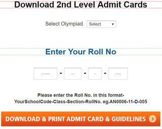 sof 2nd level admit card