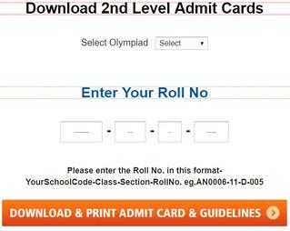 sof 2nd level admit card