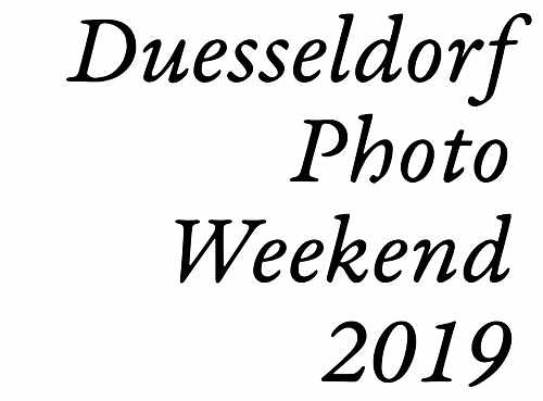 Düsseldorf Photo Weekend 2019
