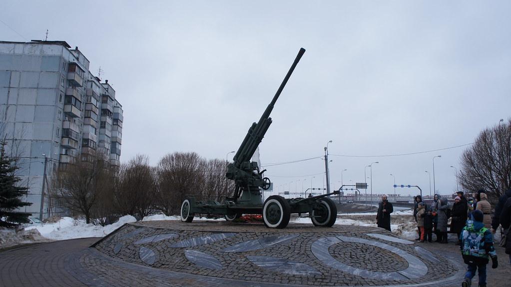 Экскурсия «Памятные места Красногвардейского района: Великая Отечественная война»