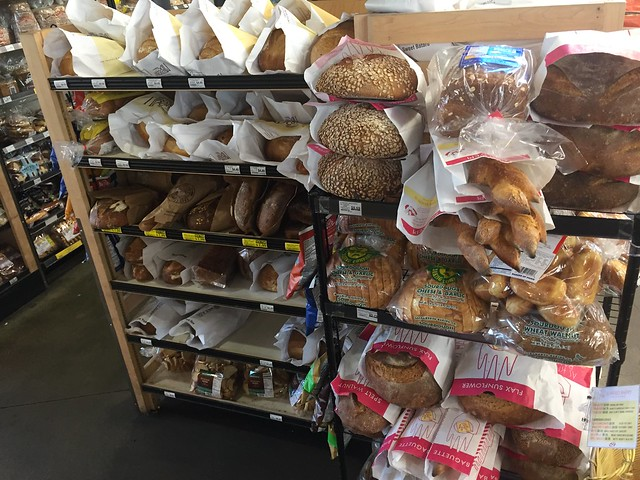 Artisan loaves at Berkeley Bowl