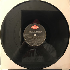 CRYSTAL WATERS:SAY...IF YOU FEEL ALRIGHT(RECORD SIDE-A)
