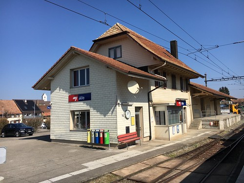 Bahnhof von Alle
