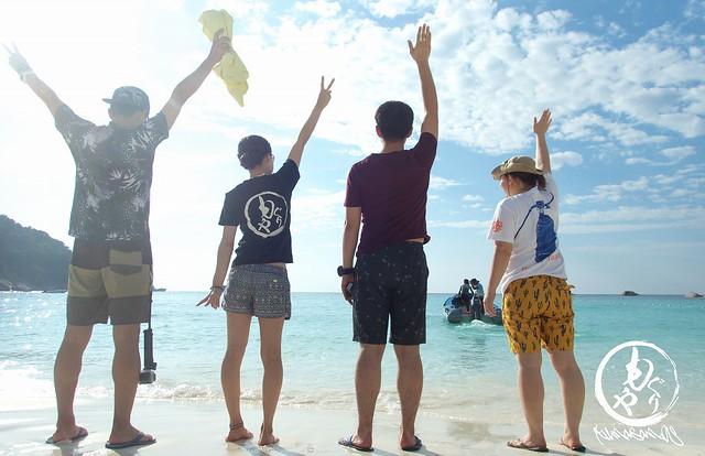 #7 シミラン島に上陸だ~