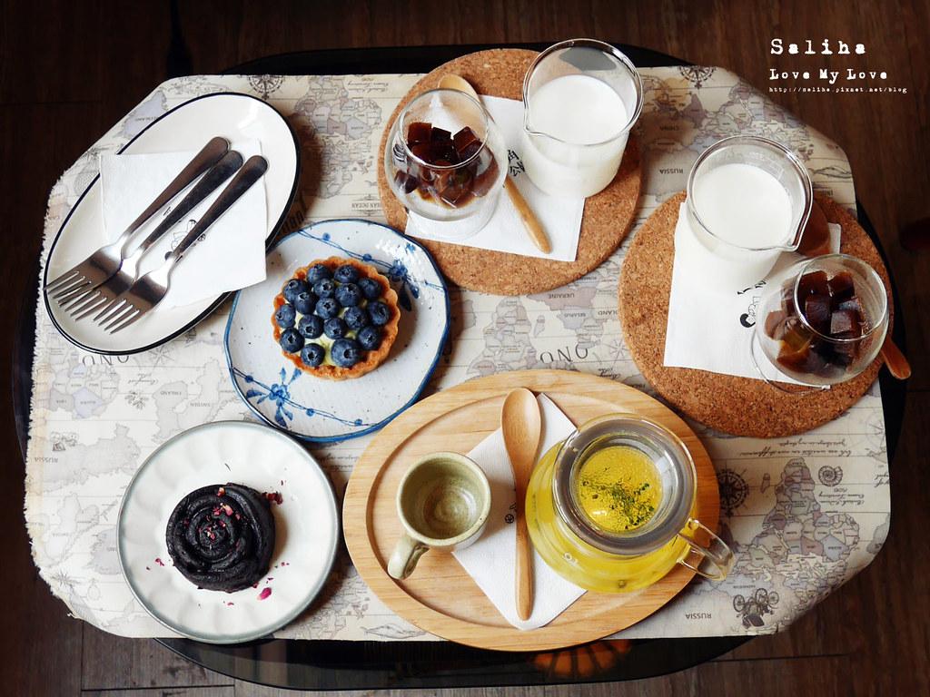 台北中山站附近不限時好喝咖啡下午茶推薦角公園咖啡館可愛蛋糕甜點點心茶飲餐點 (7)