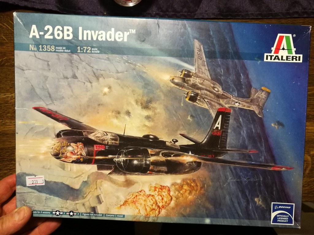 Douglas A-26B Invader 45810031045_0941d0b266_b