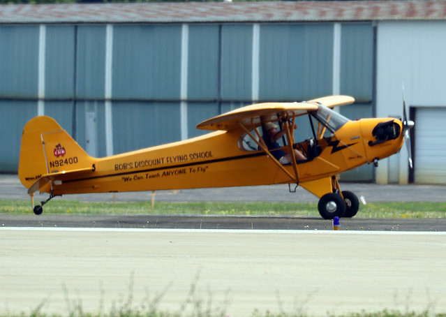 Piper J-3 Cub N92400, Canon EOS 750D, Canon EF100-400mm f/4.5-5.6L IS II USM