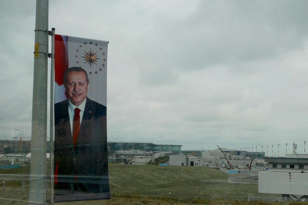 通往伊斯坦堡新机场的路