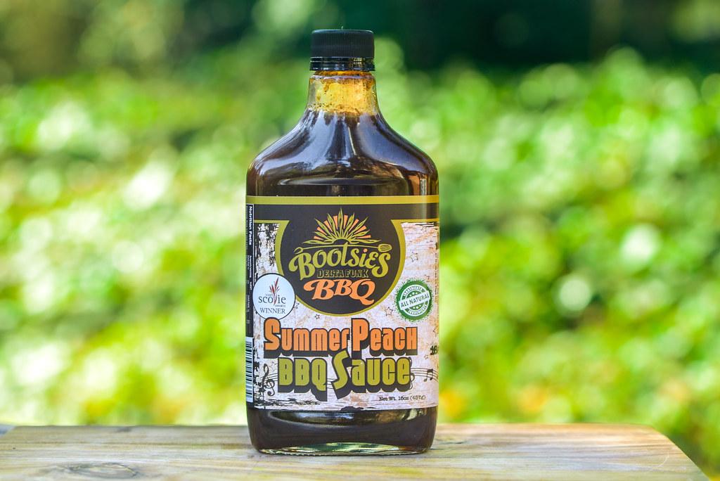Summer Peach BBQ Sauce
