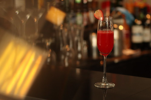 Strawberry Bellini, Misto's Valentine Drink