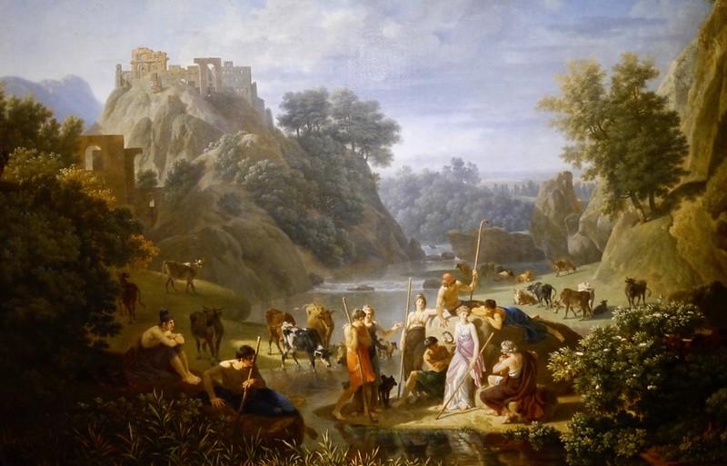 阿卡迪亞的牧人