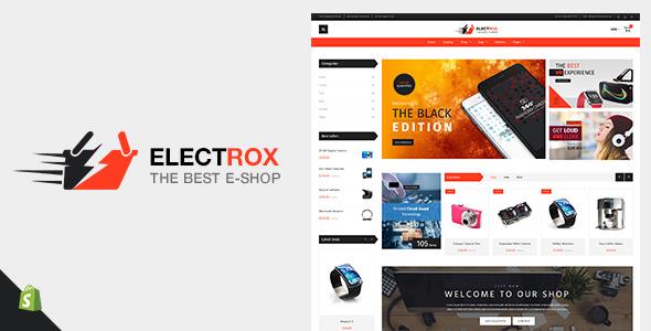 Electrox v1.2 - Electronics Shopify Theme