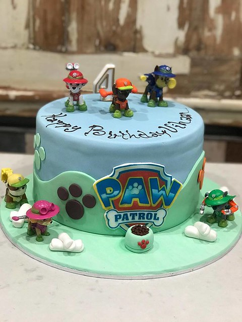 PAW Patrol Cake by Croquembouche Patisserie