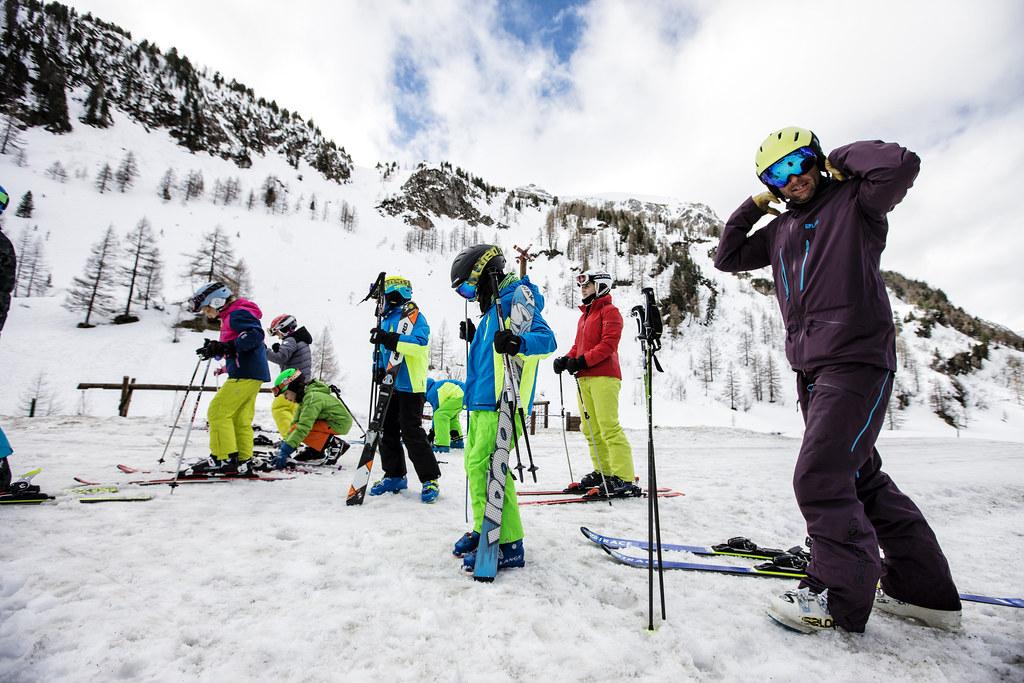 Autor článku Ondřej Novák vakci sdětmi na SNOW juniorkempu