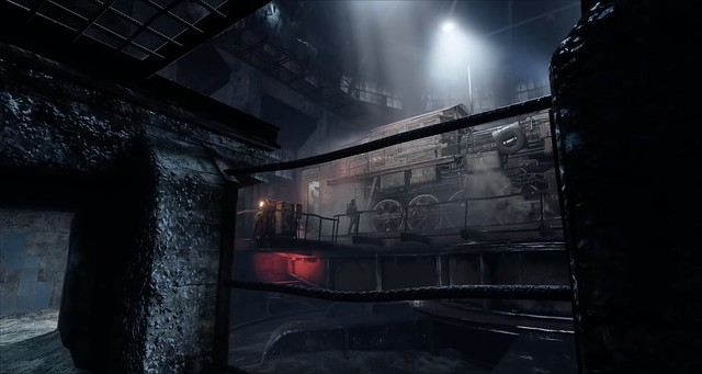 Metro Exodus - Train Turntable