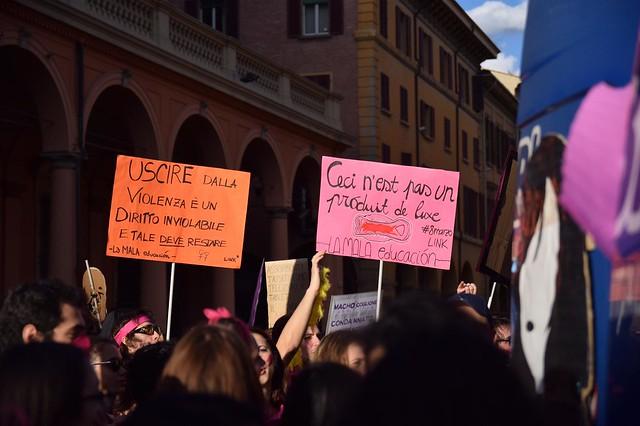 8 marzo - Bologna - Studentesse