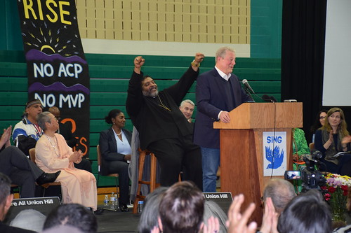 Rev. Barber, Al Gore in Buckingham, Va
