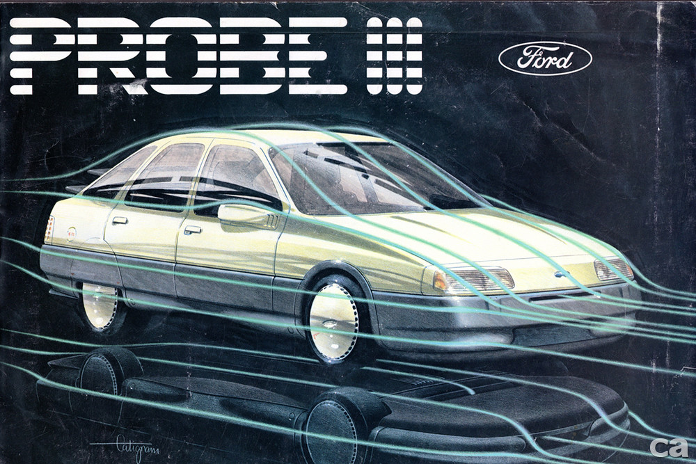 1981 Ford Probe III Concept Car