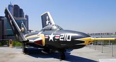 Grumman (F9F-8) AF-9J Cougar , Intrepid Sea, Air and Space Museum, New York.