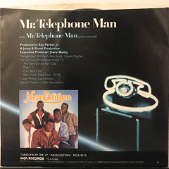 NEW EDITION:MR. TELEPHONE MAN(JACKET B)