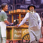 Trav'lin at the Arvada Center - L-R: Natalie Oliver-Atherton (Billie) and Milton Craig Nealy (George) Matt Gale Photography 2019