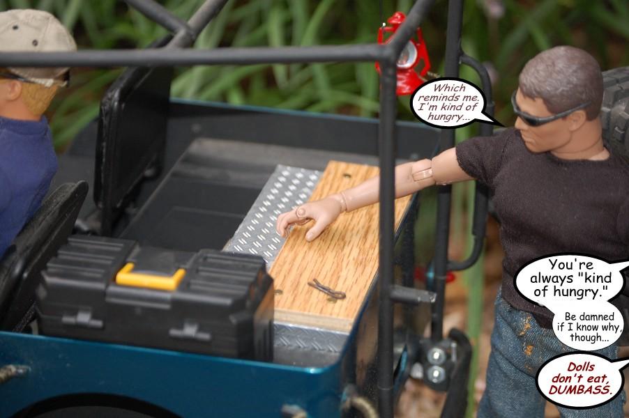 Building an RC sixth scale Jeep 46679388871_79b1cc39e6_o