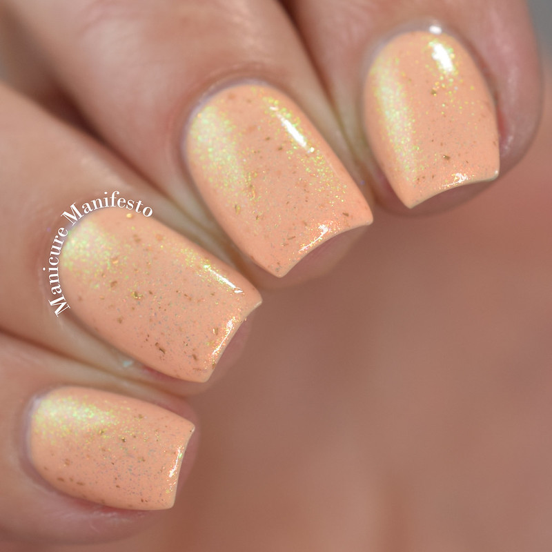 Blush Lacquers Creamsicle Clouds Review