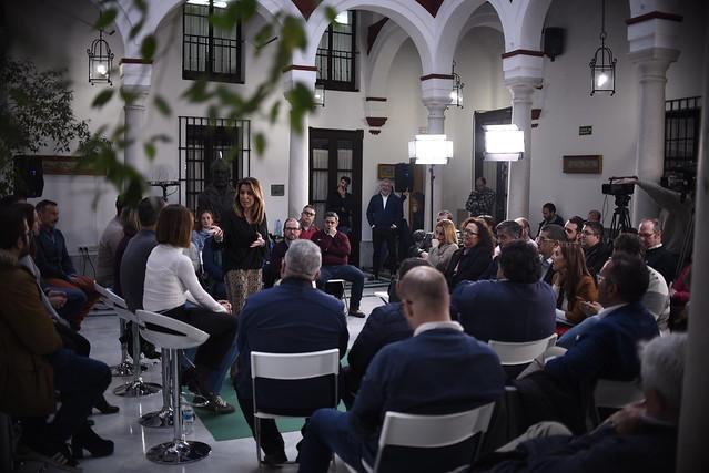 4-2-19 Reunión responsables RRSS PSOE-A