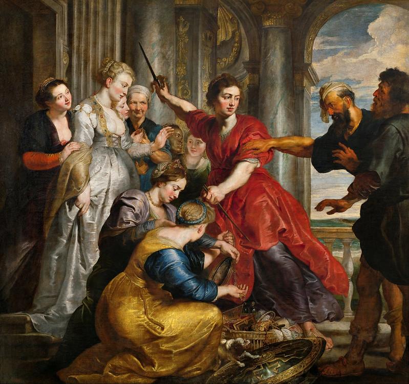 Peter Paul Rubens - Aquiles descubierto por Ulises y Diómedes