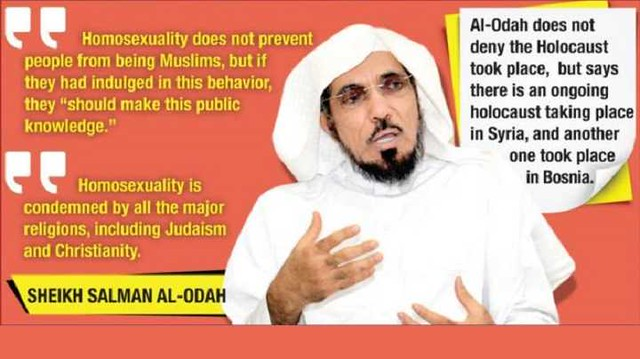 3101 Homosexuality should only be punishable in Afterlife – Saudi Scholar