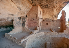 Balcony House, C.E. 1190 to 1300, Mesa Verde National Park, Colorado