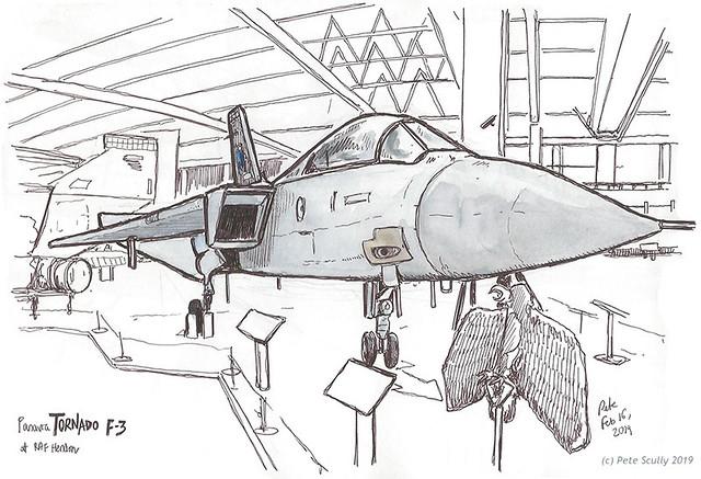 RAF Hendon Tornado