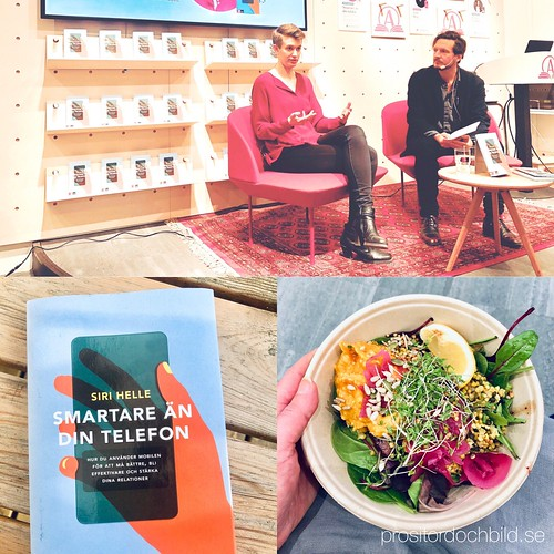 smarter than your phone, lunch inspiration, akademibokhandel stockholm, february 21, 2019