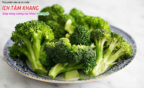 Bông cải xanh rất tốt cho sức khỏe của tim