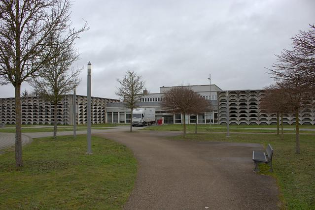 BU Lettres - façade esplanade