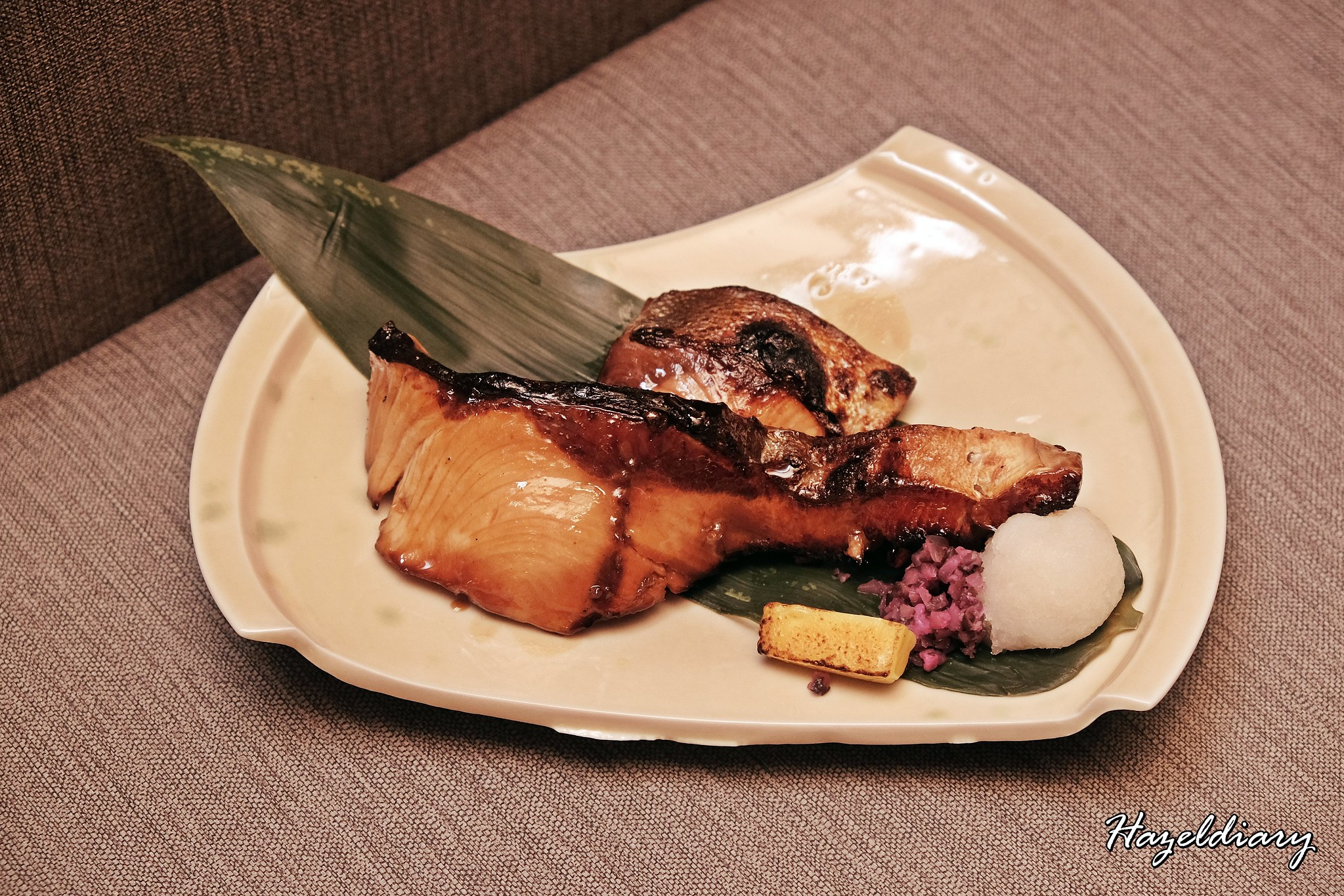 Charcoal grill and salad bar keisuke singapore-Yellowtail
