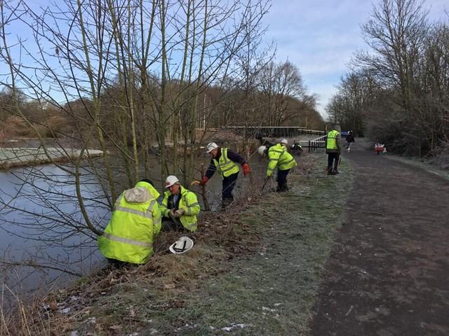 Sankey Canal, Bewsey Lock - 3 February 2019