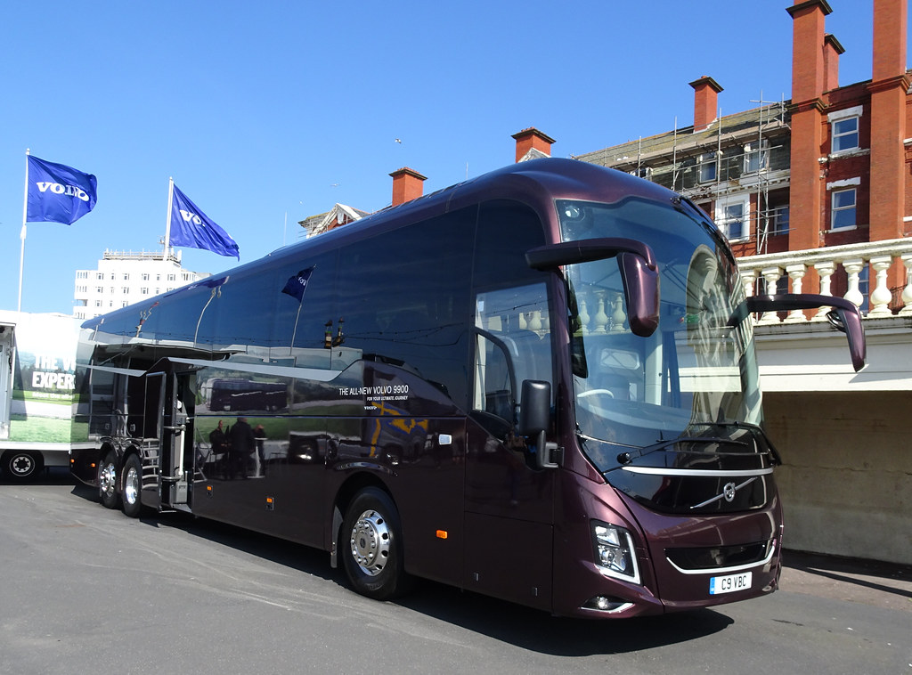 C9VBC Volvo B11R 9900 at the UK Coach Rally 2019 in
