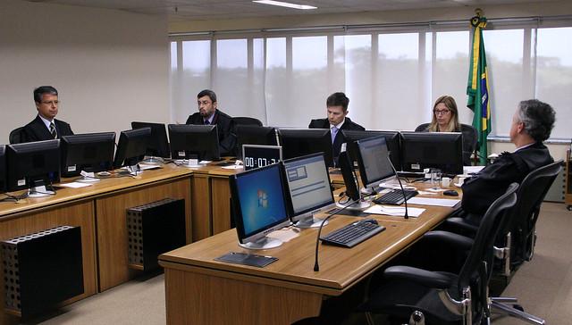 Julgamento dos recursos da defesa de Lula no TRF4 de Porto Alegre durou mais de oito horas - Créditos: Sylvio Sirangelo/TRF4