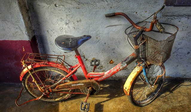 Is there a Flickr group for old bicycles?