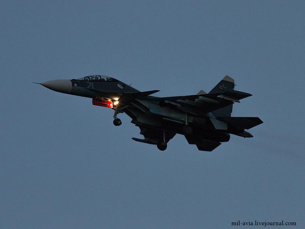 Su-30SM 71 BLUE