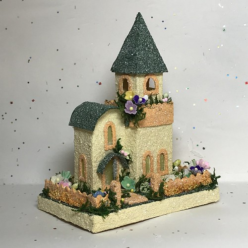 Mini Easter Putz church