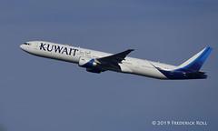 Kuwait B777 ~ 9K-AOL