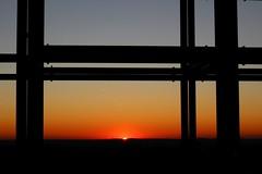 Sonnenuntergang Halde Norddeutschland