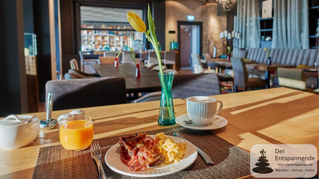 Frühstück im Nägler's Fine Lounge Hotel